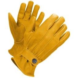 Guantes Cuero Moto John Doe Grinder Yellow ,Guantes Moto Cuero