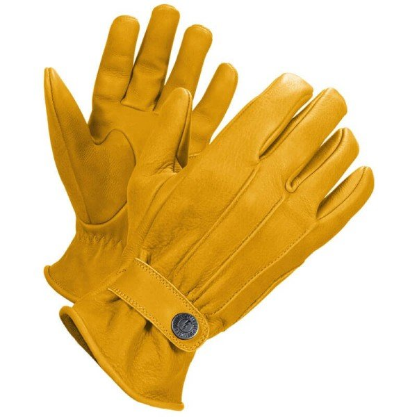 Motorcycle Leader Gloves John Doe Grinder Yellow