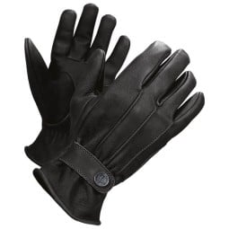 Motorcycle Leader Gloves John Doe Grinder Black ,Motorcycle Leather Gloves