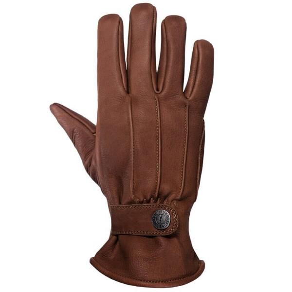 Motorrad Handschuhe John Doe Grinder Brown