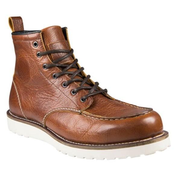 Zapatos de Moto John Doe Rambler Cognac