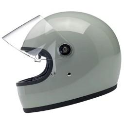 Motorcycle helmet vintage Biltwell Gringo S gloss sage green ,Vintage Helmets