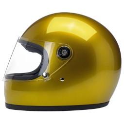 Motorcycle helmet vintage Biltwell Gringo S Yukon Gold ,Vintage Helmets