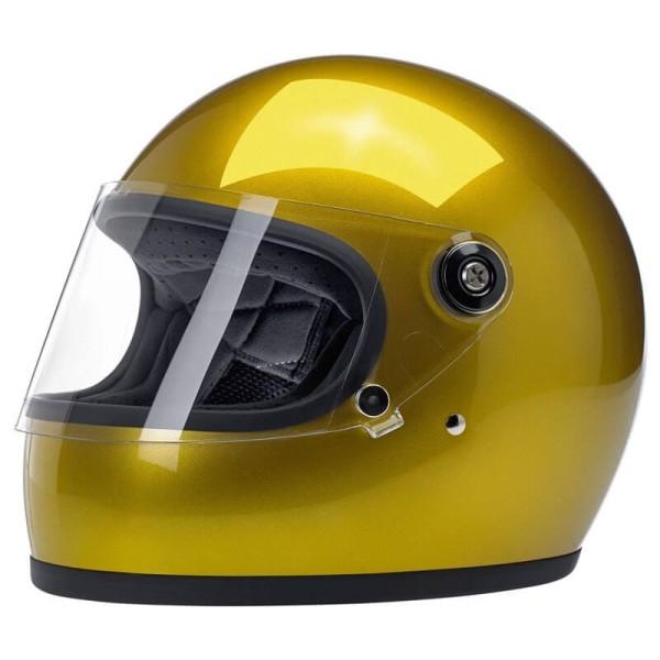 Motorcycle helmet vintage Biltwell Gringo S Yukon Gold