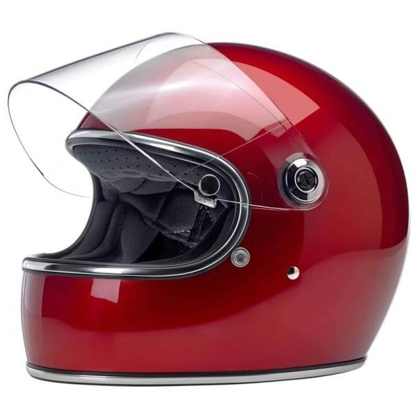 Casque moto vintage Biltwell Gringo S Candy Red
