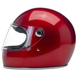 Casco moto vintage Biltwell Gringo S Candy Red, Caschi Vintage