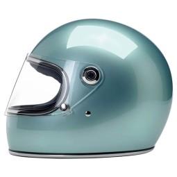 Motorrad helm vintage Biltwell Gringo S Sea Foam ,Vintage Helme