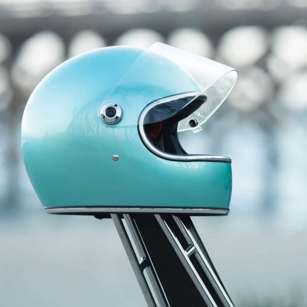 Motorrad helm vintage Biltwell Gringo S Sea Foam