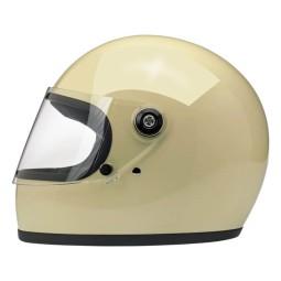 Casco Moto Biltwell Gringo S Vintage White, Caschi Vintage