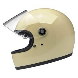 Motorcycle Helmet Biltwell Gringo S Vintage White ,Vintage Helmets