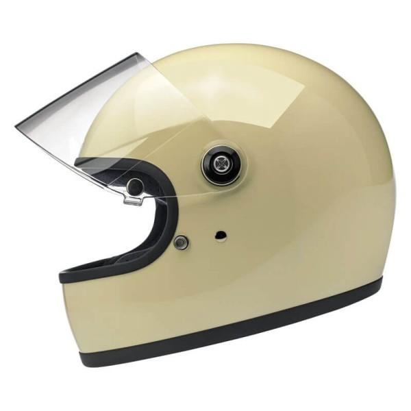 Motorrad Helm Biltwell Gringo S Vintage White