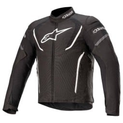 Motorcycle Jacket Alpinestars T-Jaws V3 Waterproof Black White ,Motorcycle Textile Jackets