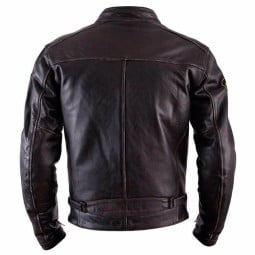 Leather motorcycle jacket Helstons Ace Oldies brown ,Leather Motorcycle Jackets
