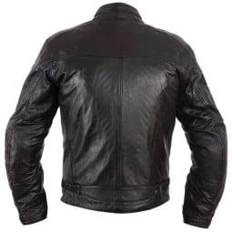 Blouson moto cuir Helstons Ace Rag noir