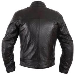 Chaqueta moto cuero Helstons Ace Rag negro