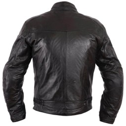 Leather motorcycle jacket Helstons Ace Rag black ,Leather Motorcycle Jackets