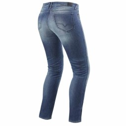 Motorcycle Jeans REVIT Westwood Lady Blu Used ,Motorcycle Jeans