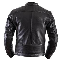 Chaqueta moto cuero Helstons Cruiser Rag negro