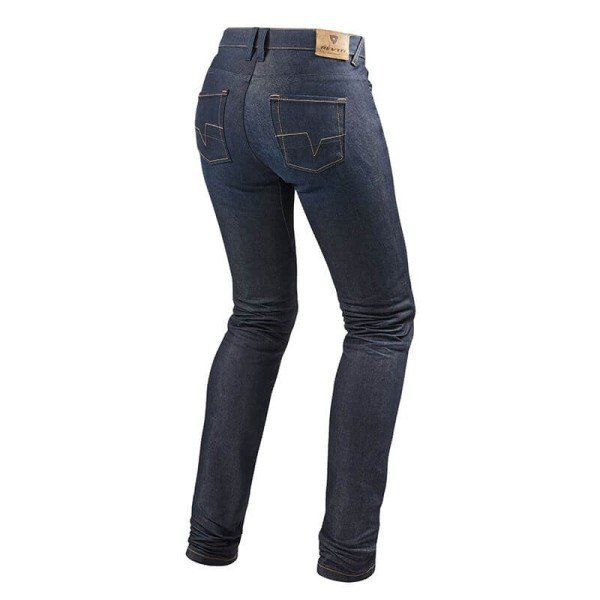 Jeans Moto REVIT Madison 2 Femme Blu Délavé