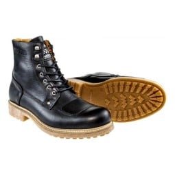 Motorcycle boots Helstons Mountain black, Motorcycle Shoes Urban