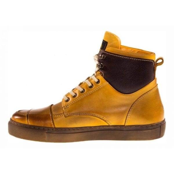 Zapatos moto Helstons Utah Peach