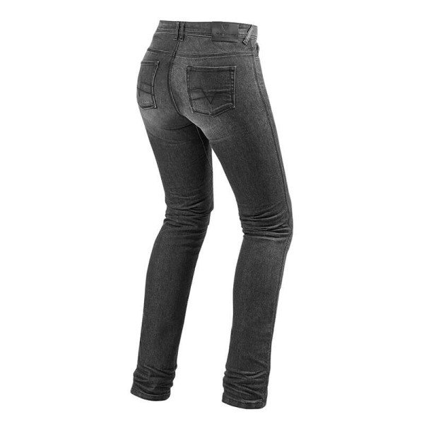 Motorrad Jeans REVIT Madison 2 Grau Used