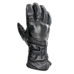 Guanti moto pelle Helstons Titanium nero, Guanti Moto Pelle