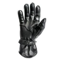 Guanti moto pelle Helstons Rider nero, Guanti Moto Pelle