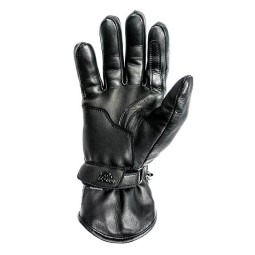 Leather motorcycle gloves Helstons Rider black ,Motorcycle Leather Gloves