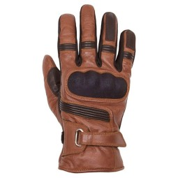 Motorradhandschuhe Helstons Vertigo camel schwarz, Winter Handschuhe