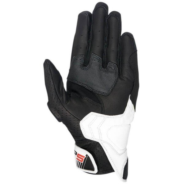 Motorcycle gloves Alpinestars SP-5 black red