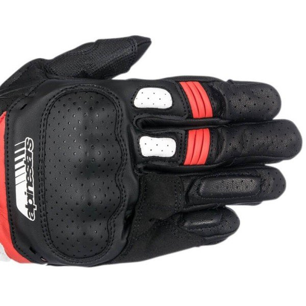 Motorrad-Handschuhe Alpinestars SP-5 schwarz rot