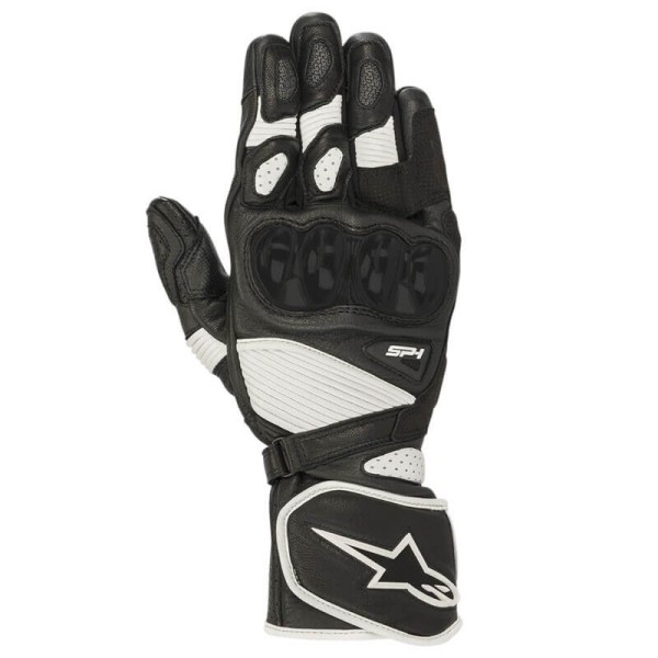Motorrad-Handschuhe Alpinestars SP-1 V2 schwarz weiss