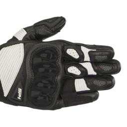 Gants moto Alpinestars SP-1 V2 noir blanc