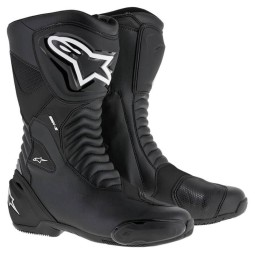 Alpinestars boots SMX S black ,Motorcycle Racing Boots