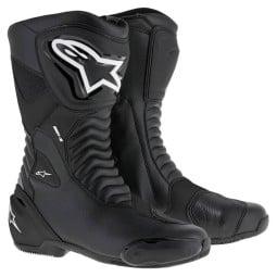 Motorradstiefel Alpinestars SMX S schwarz, Motorrad Racing Stiefel