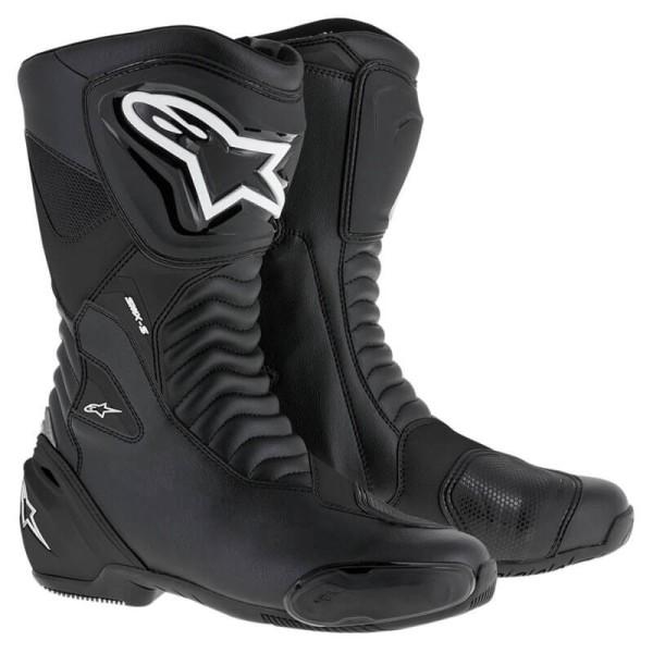 Motorradstiefel Alpinestars SMX S schwarz