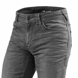 Motorcycle Jeans REVIT Philly 2 Grey Used ,Motorcycle Jeans
