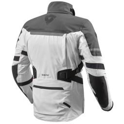 Motorradjacke Rev'it Poseidon 2 GTX silber ,Motorrad Textiljacken