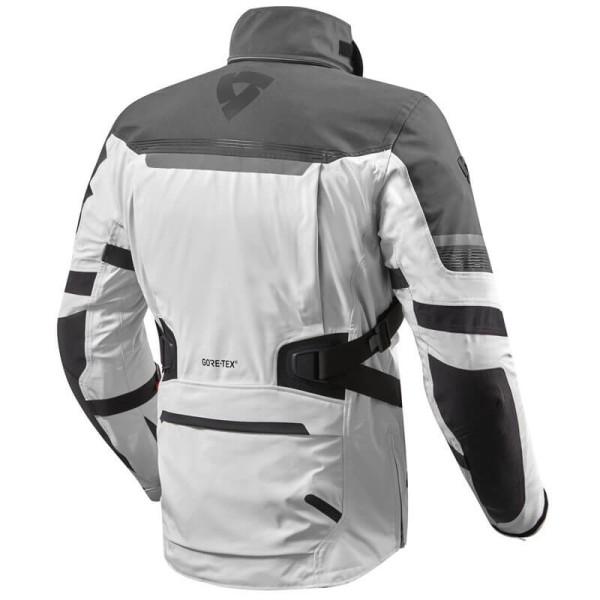 Motorcycle Jacket Rev it Poseidon 2 GTX silver