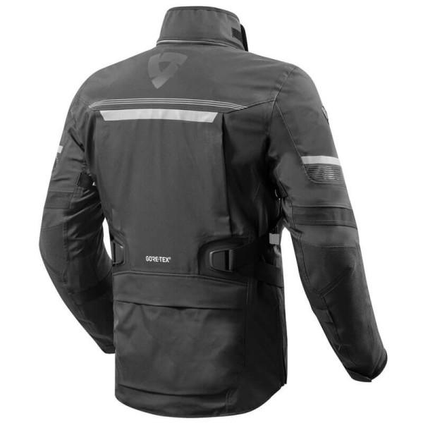Motorcycle Fabric Jacket REVIT Poseidon 2 GTX Black