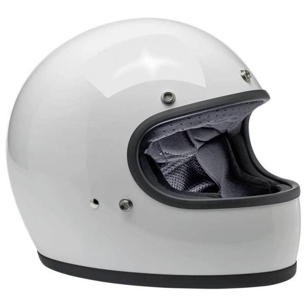 Motorcycle helmets Biltwell Gringo gloss white