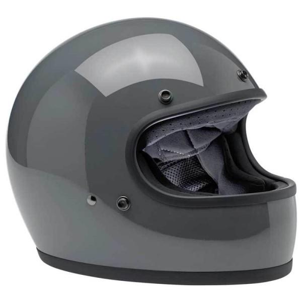 Motorcycle helmets Biltwell Gringo gloss storm grey