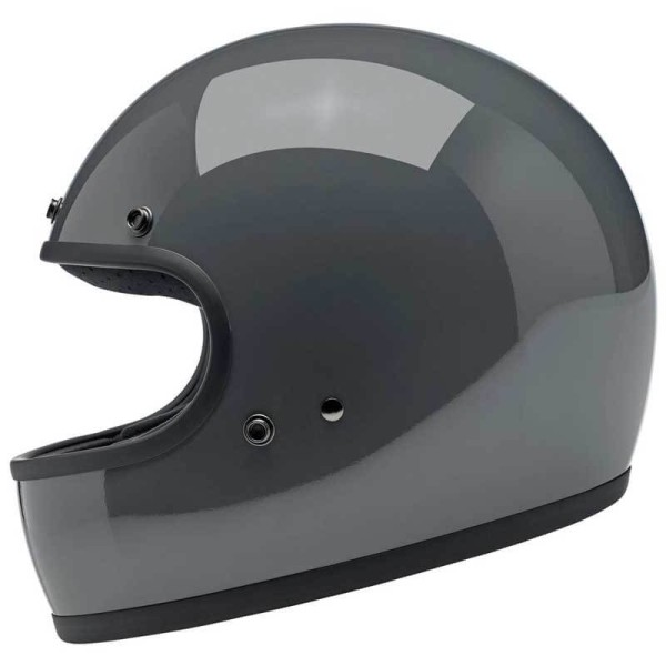 Motorrad helm Biltwell Gringo gloss storm grey