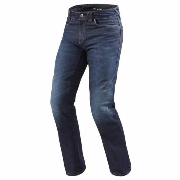 Jeans Moto REVIT Philly 2 Blu Scuro , Jeans Moto