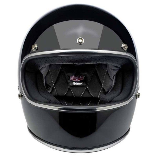 Motorrad helm Biltwell Gringo gloss black