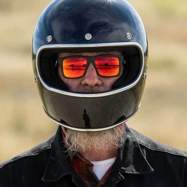 Casque moto retrò Biltwell Gringo gloss black