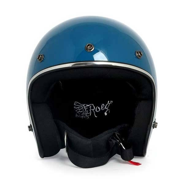 Casque jet moto ROEG Moto JETT blue gloss