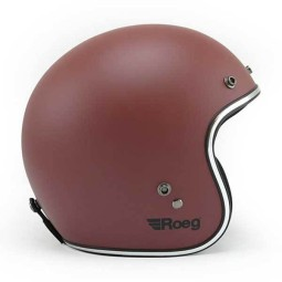 Motorcycle jet helmet ROEG Moto JETT Oxide Red Matte, Jet Helmets