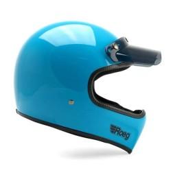 Motorrad helm Roeg Moto Peruna Sky gloss ,Vintage Helme
